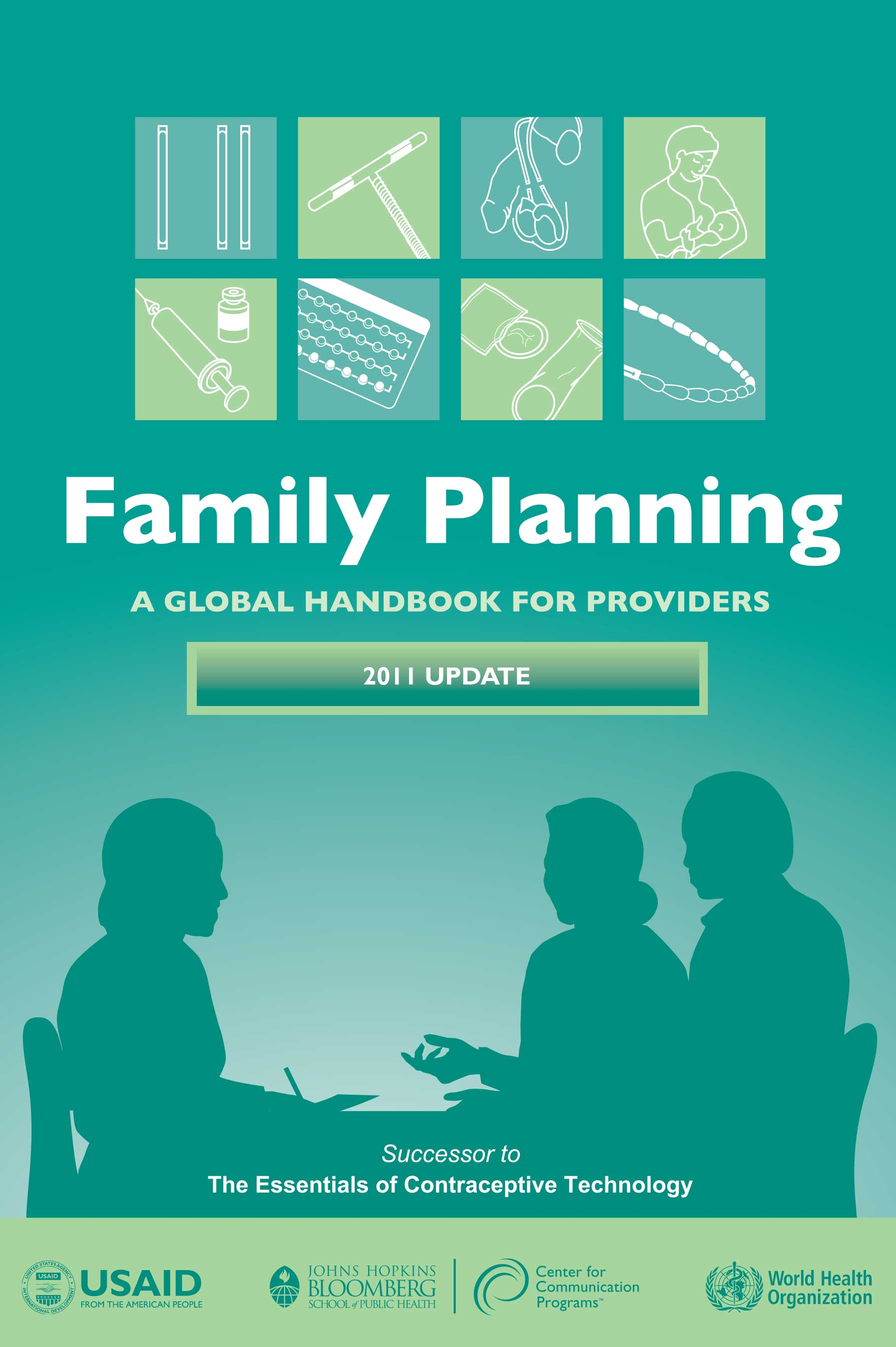 family planning: A global handbook for providers front page